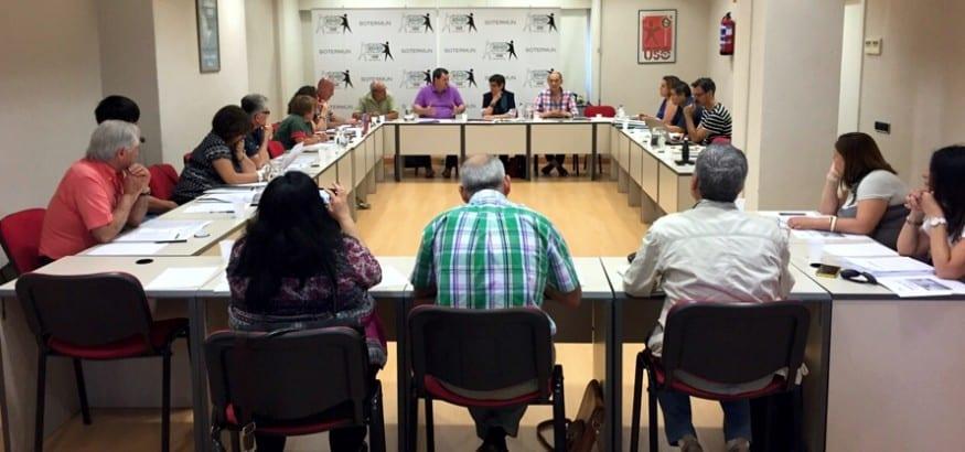 SOTERMUN celebra su Asamblea General anual reivindicando el trabajo digno