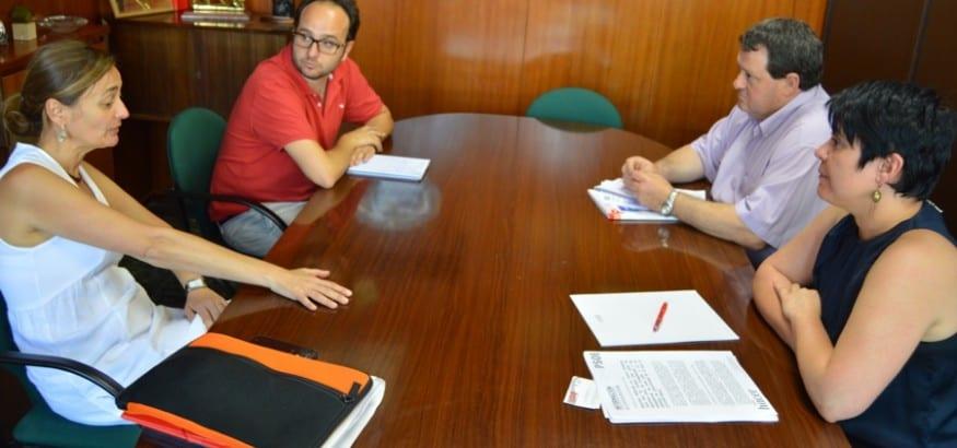 USO se reúne con el PSOE para intercambiar propuestas de regeneración