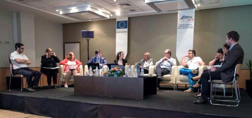 USO participó en el seminario internacional de EZA en Lisboa