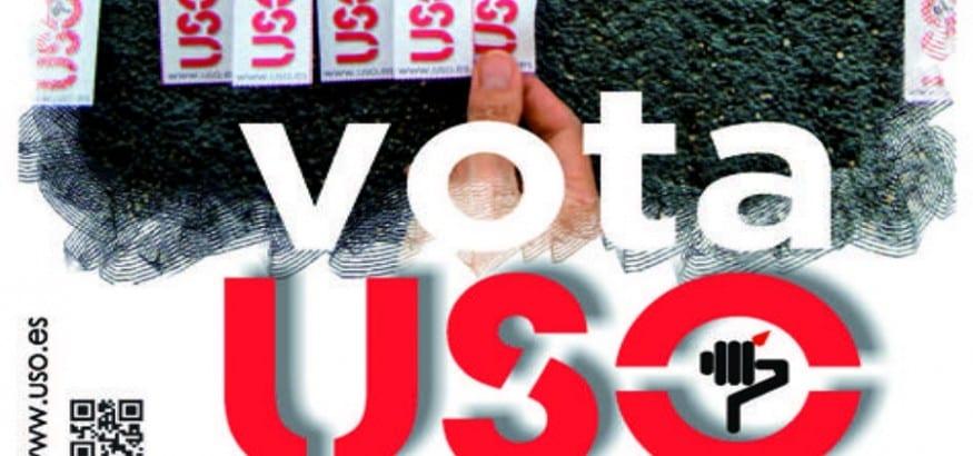 USO denuncia amenazas y acoso a candidatos en las elecciones sindicales en la Administración Pública