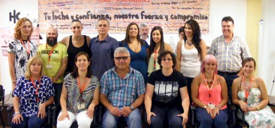 Nueva Ejecutiva de USO Canarias