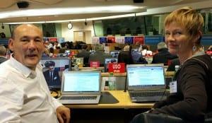 20151028_Comité Ejecutivo CES_Bruselas_Javier de Vicente_Marie Homburg