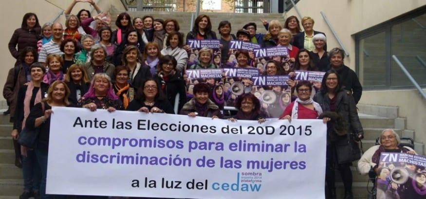 Jornadas Plataforma CEDAW Sombra España