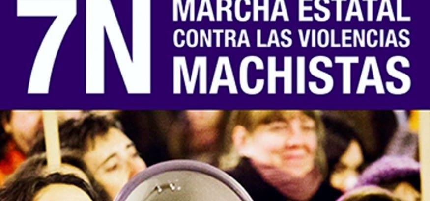 USO llama a la participación en la Marcha Estatal contra las Violencias Machistas