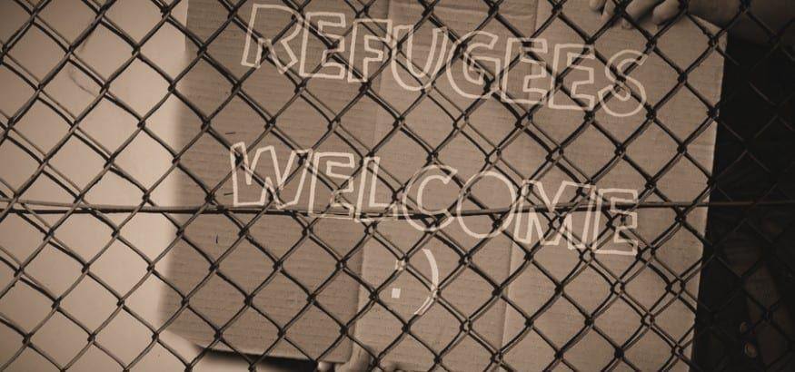 Concentración en Madrid para exigir vías legales y seguras para los refugiados
