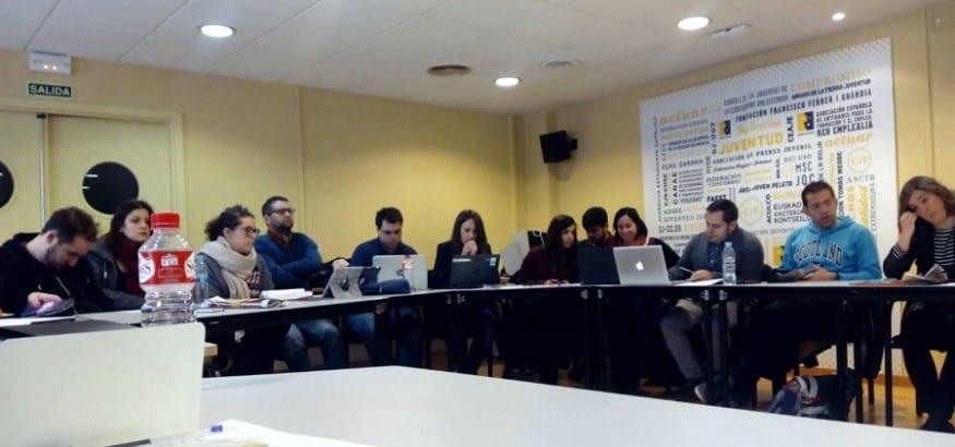 Juventud USO presente en la Asamblea Ejecutiva Ordinaria del CJE