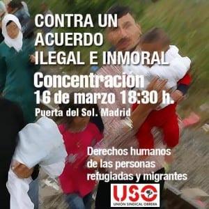 cartel 16 marzo USO