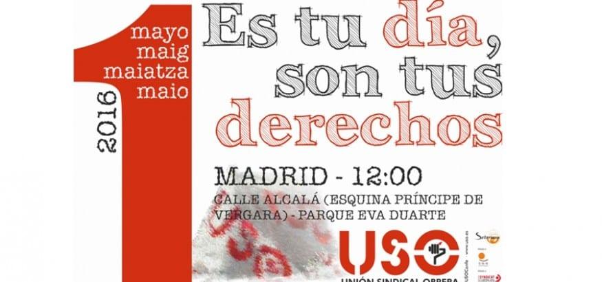 Más que nunca #1Mayo #TudiaTusderechos