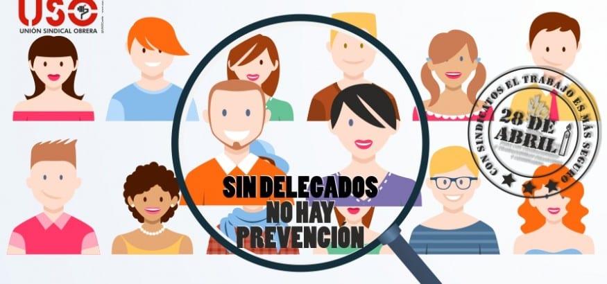 La importancia de los delegados en la prevención de riesgos laborales centra la campaña del 28 de abril