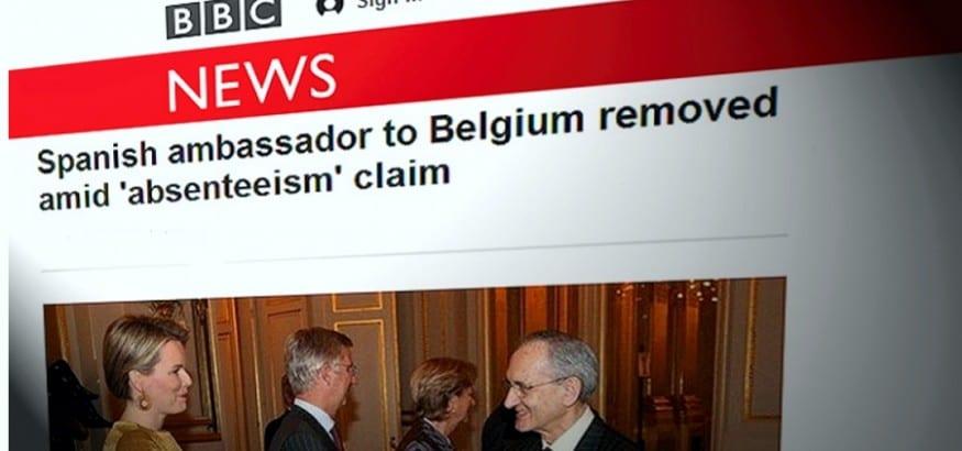 Confirmadas las denuncias de SISEX-USO: destituido el Embajador de España en Bélgica