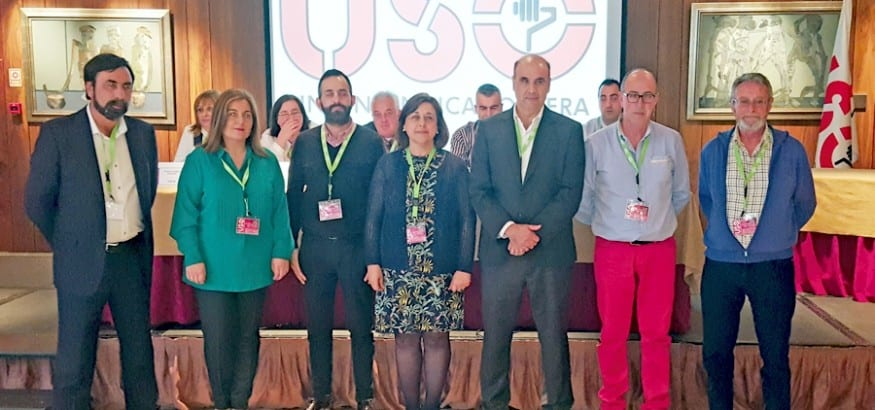 Mercedes Martínez, reelegida como secretaria general de USO Cantabria