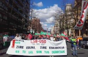 LSB-USO Euskadi 1 mayo 2016