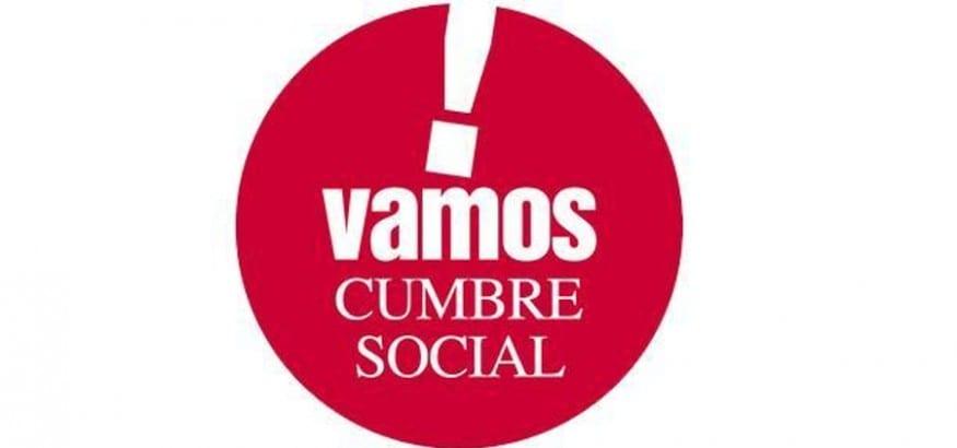 Julio Salazar, Ignacio Fernández Toxo y Pepe Álvarez participan en el XIX Plenario de la Cumbre Social