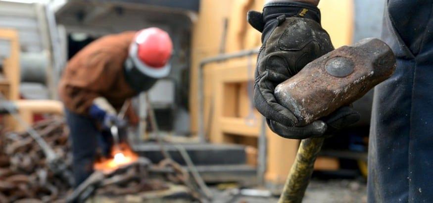 Un 9,2% más de accidentes laborales con baja en los seis primeros meses de 2016