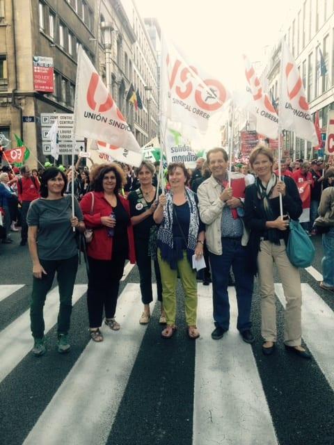 2160920_Manifestacion europea contra TTIP y CETA_Bruselas_Santiago González_Marie Homburg