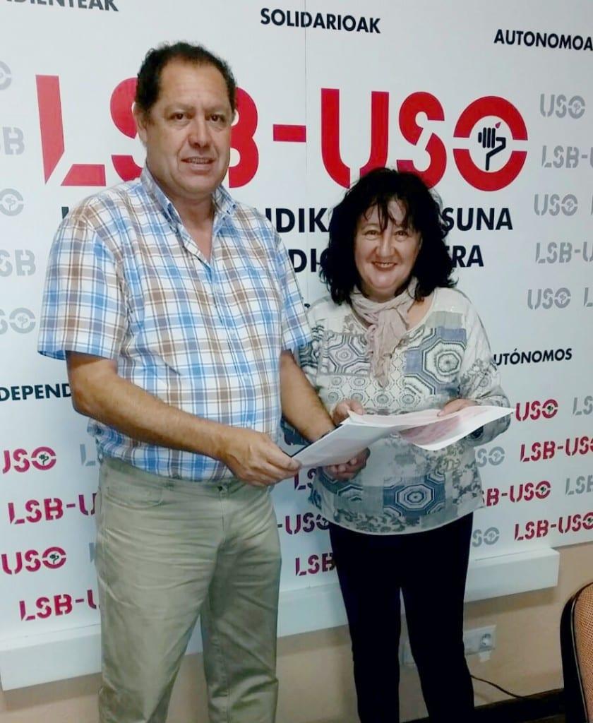 USO CRS Bizkaibus