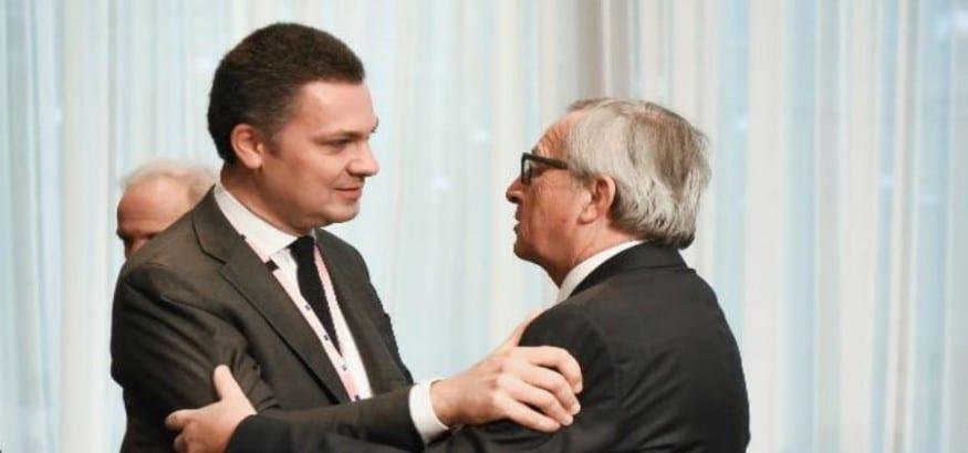 Juncker se reúne con el comité ejecutivo de la CES