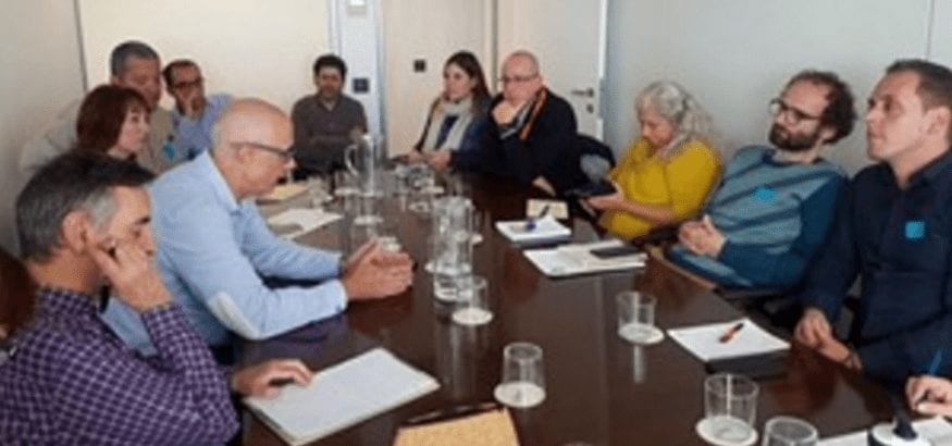 USOCV participó en la reunión sobre la futura ley de protección ambiental de la Comunitat Valenciana
