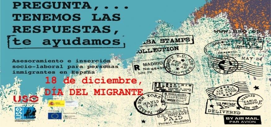 Día del Migrante. Invisibles pero con derechos