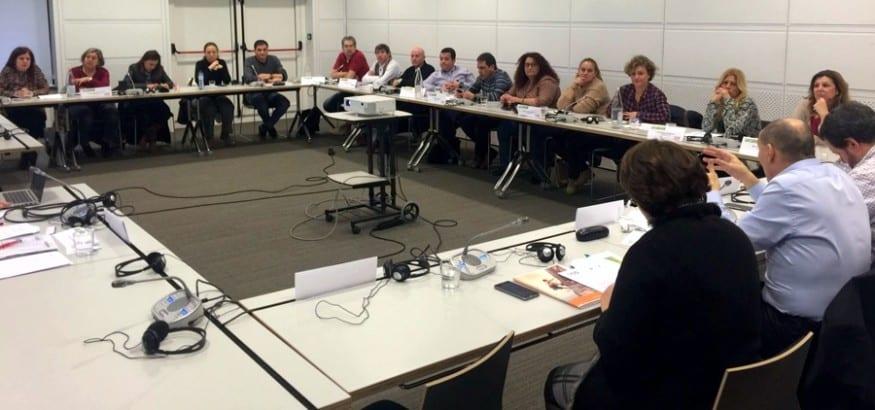 La 3º Promoción del FDF termina su formación con un curso sobre sindicalismo internacional en Bruselas