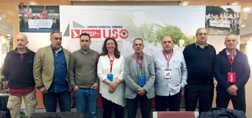 La Federación de Trabajadores de Seguridad Privada elige a Basilio Febles como secretario general