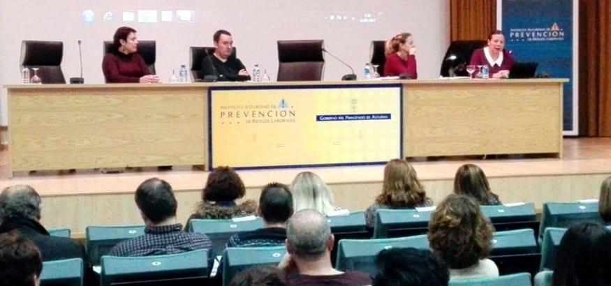 Jornada sobre prevención de riesgos laborales en Oviedo