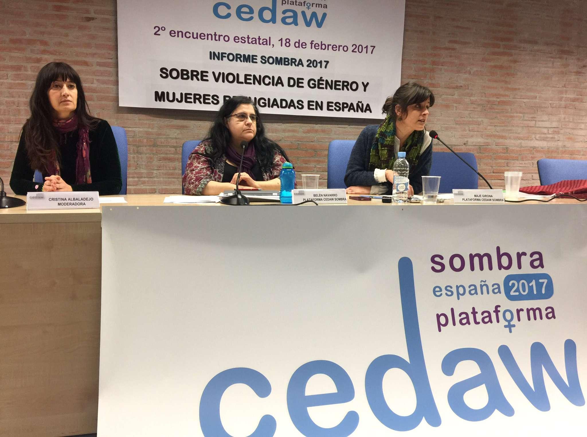 USO Cedaw Sombra 2017 Belén Navarro y Cristina Albaladejo