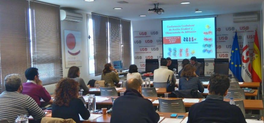 USO celebra la Conferencia Confederal de Acción Sindical 2017