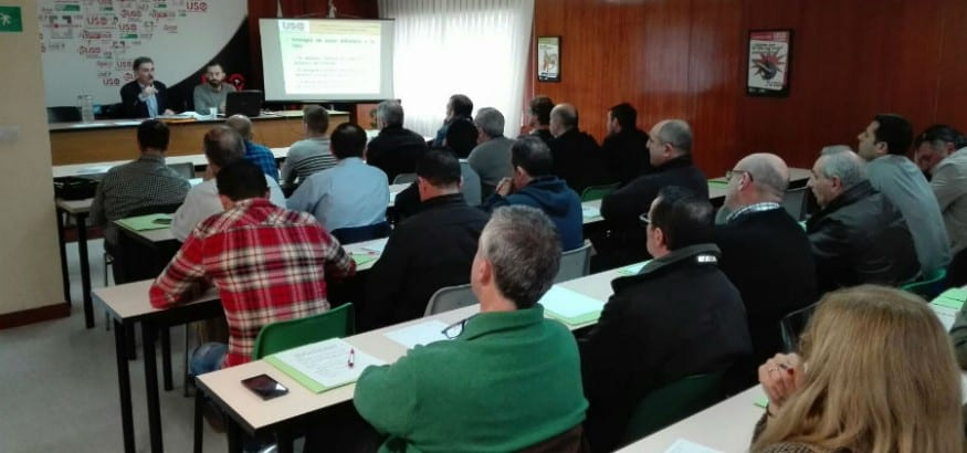 USO-Cantabria forma a sus cuadros para la acción sindical con éxito de participación