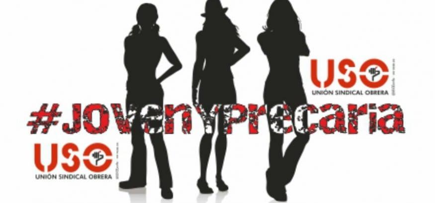 USO denuncia la precariedad laboral de las mujeres jóvenes