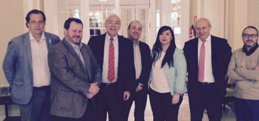 USO se reúne en Madrid con el secretario general de la OCDE
