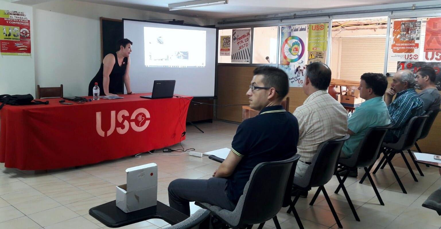 USO Formación sindical Galicia 2