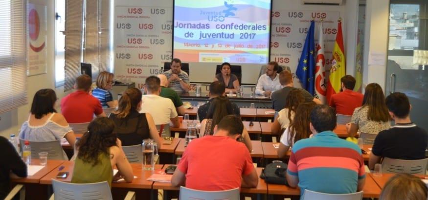 USO celebra las Jornadas Confederales de Juventud 2017