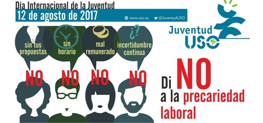 Manifiesto con motivo del Día Internacional de la Juventud