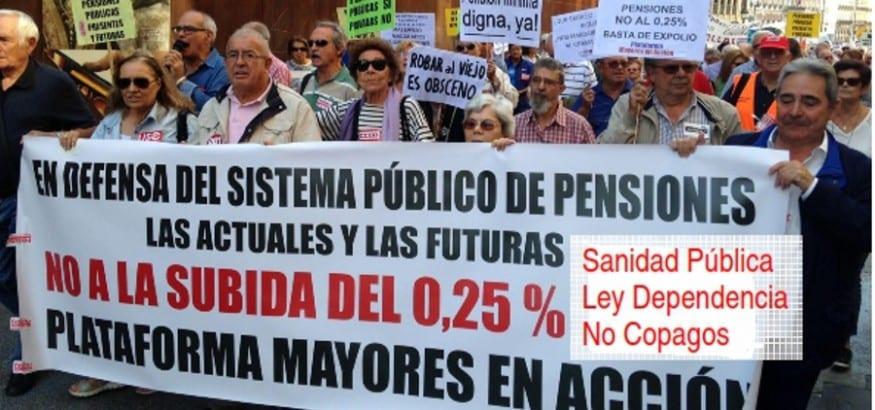AJUPE-USO llama a participar en la manifestación por el Día Internacional de las Personas Mayores