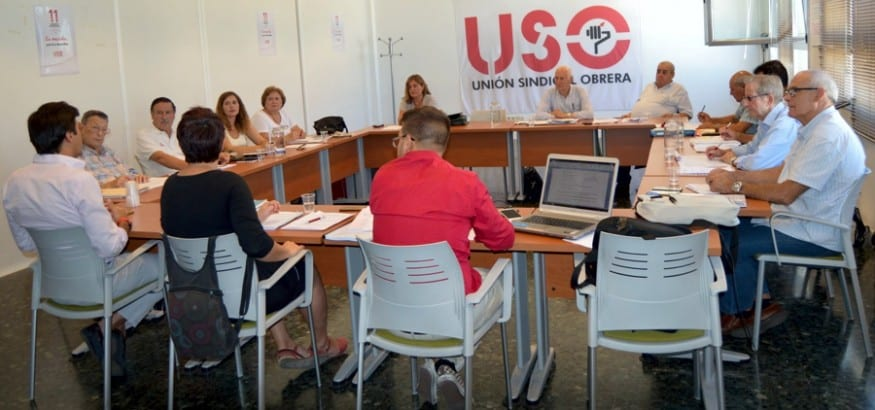AJUPE-USO celebra su Asamblea General Extraordinaria
