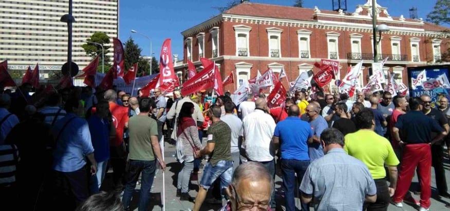 El 90% de la plantilla de Marsegur secunda la huelga estatal convocada por la FTSP-USO