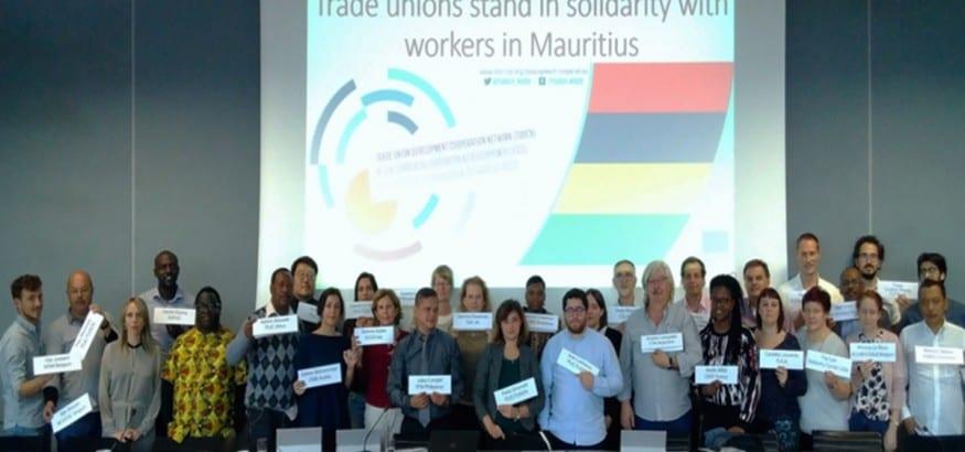 Los Objetivos de desarrollo sostenible, su impulso desde la OIT e informes sindicales