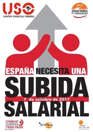 Jornada Mundial por el Trabajo Decente 2017