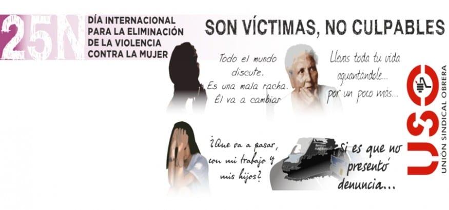 Son víctimas, no culpables.