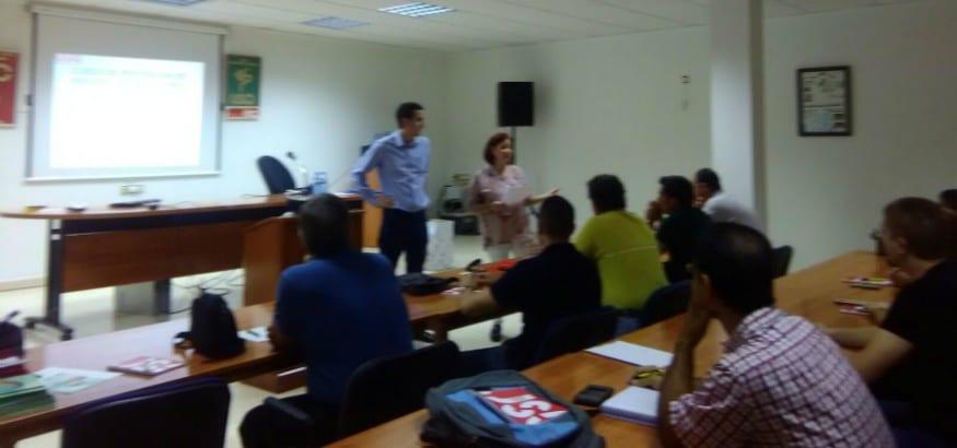 Nuevo curso de prevención de riesgos laborales en USO Murcia
