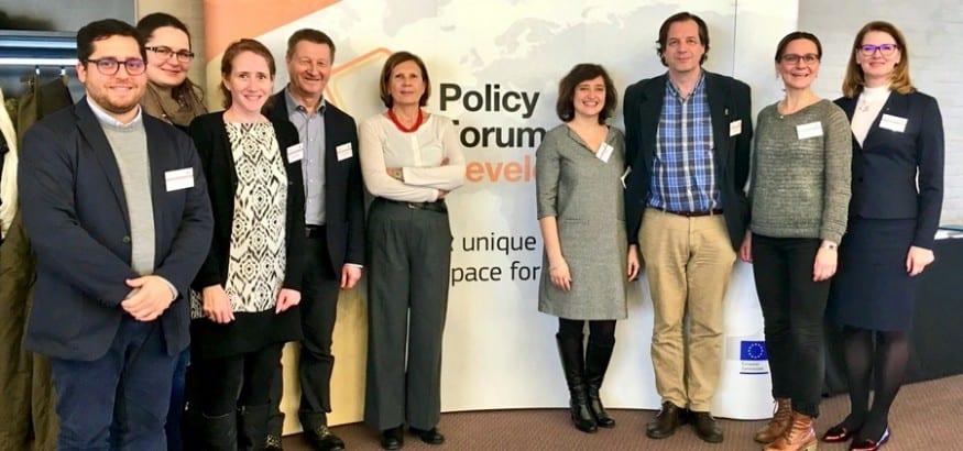 USO participó en el Foro Político sobre el Desarrollo Europeo