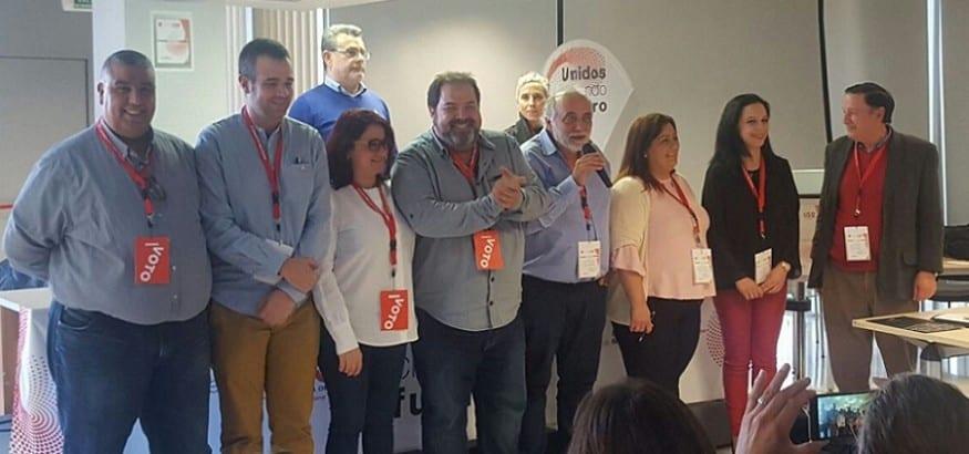 El Congreso Regional reelige a José Sáez y aprueba el cambio a USO Región de Murcia