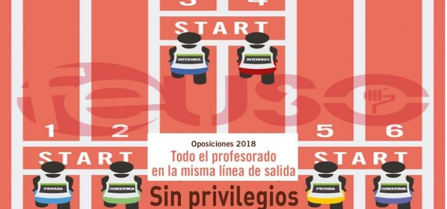 FEUSO, en contra del discriminatorio Reglamento de Oposiciones