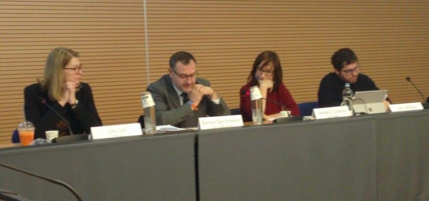 Reunión del grupo europeo de la Red Sindical de Cooperación al Desarrollo