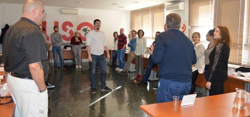 Los alumnos de la 4ª promoción del FDF se forman en técnicas para hablar en público