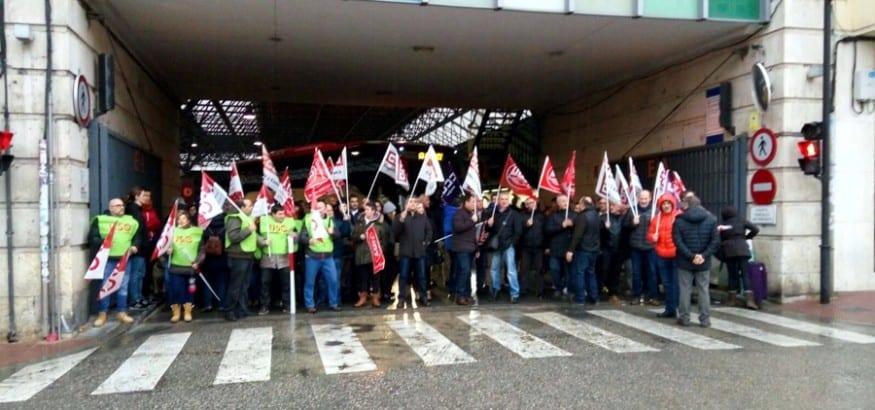 La presión sindical consigue que se retome la negociación del convenio de transporte de Burgos