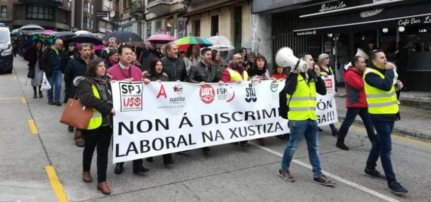 La Justicia Gallega continúa en huelga indefinida por sus derechos