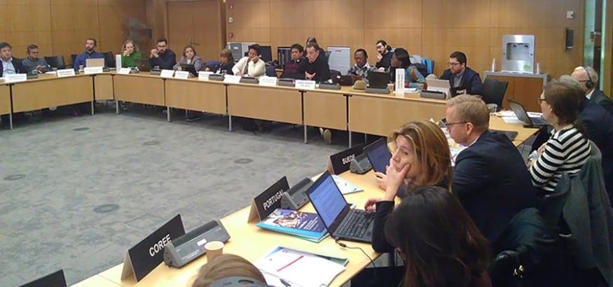 La Red Sindical de Cooperación al Desarrollo se reúne con la OCDE