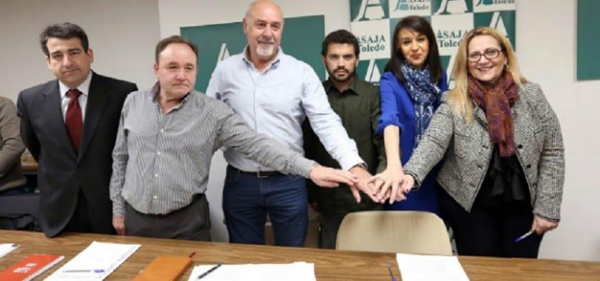 USO de Castilla-La Mancha firma el convenio del campo de Toledo
